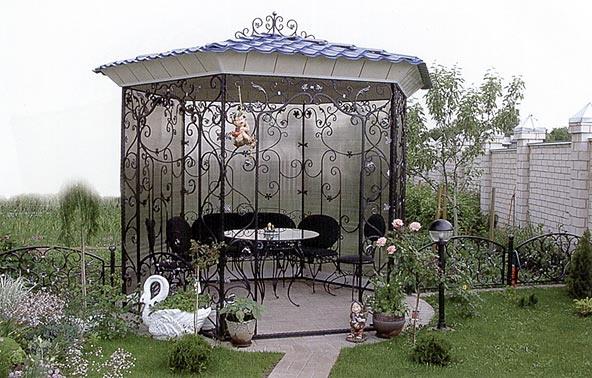 Беседки в садовом дизайне: маленький домик для отдыха на даче (35 фото) в фото