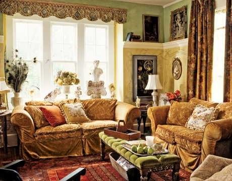 Декор интерьера в стиле модерн в фото