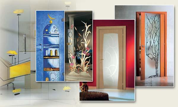 Декор межкомнатных дверей своими руками (фото) в фото