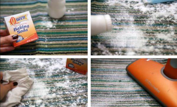 Как и чем почистить ковры из различных материалов в фото