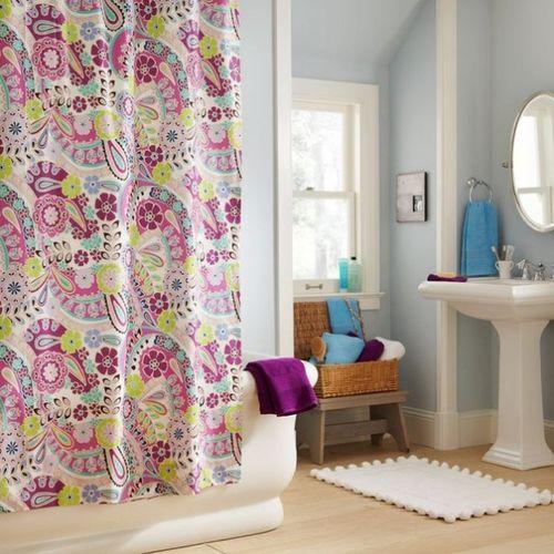 Как подобрать занавески для ванной комнаты: варианты дизайна в фото