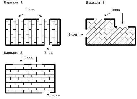 Как производится укладка паркетной доски по диагонали? в фото