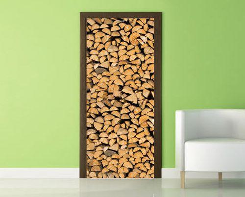 Как сделать красивый декор межкомнатных дверей в фото