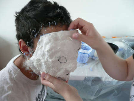 Как сделать маску из гипса или слепок лица в фото