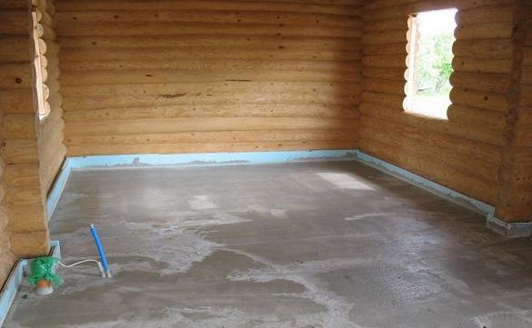 Как своими руками сделать пол в деревянном доме в фото
