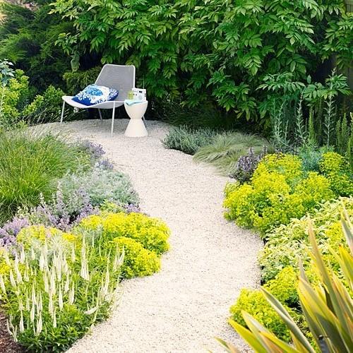 Каменные садовые дорожки: из бетона, кирпича, гальки, гравия, плитки и не только (40 фото) в фото