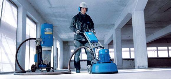 Обеспыливание бетонного перекрытия или пола своими руками в фото