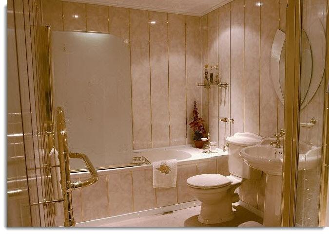 Обустройство ванной комнаты в фото