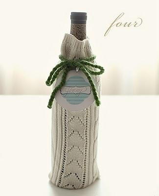 Подарочная упаковка для бутылок в фото
