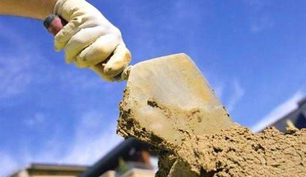 Строительный пескобетон: преимущества использования смесей в фото