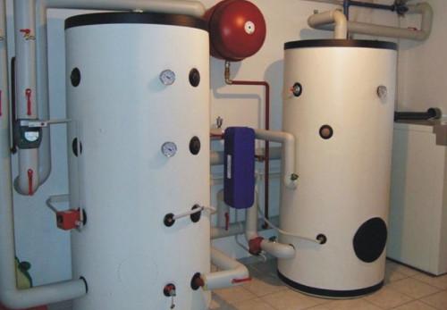 Теплоаккумулятор: принцип работы, применение в системе отопления в фото