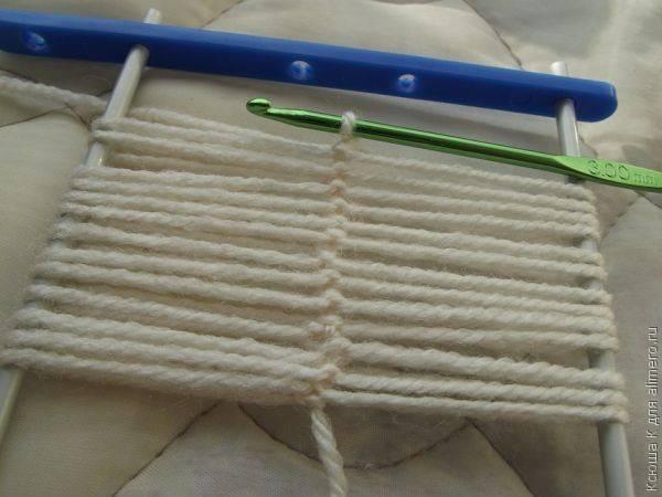 Вязание на вилке для начинающих со схемами: мастерим крючком с фото и видео в фото