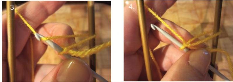Вязание на вилке: модели соединения полос с фото и видео мастер-классом в фото