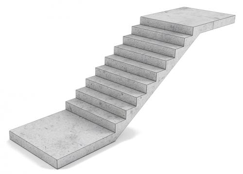 Железобетонные ступени: их разновидности и конструктивные отличия в фото