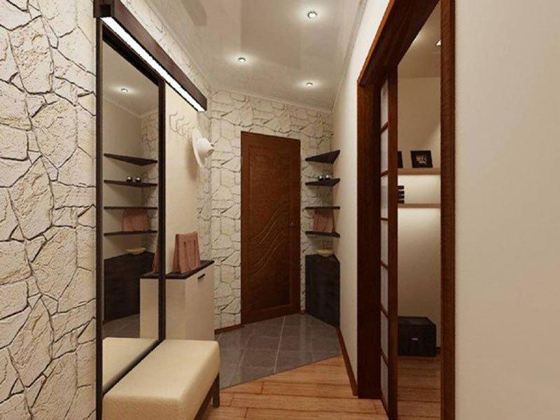 Дизайн коридора небольшой квартиры