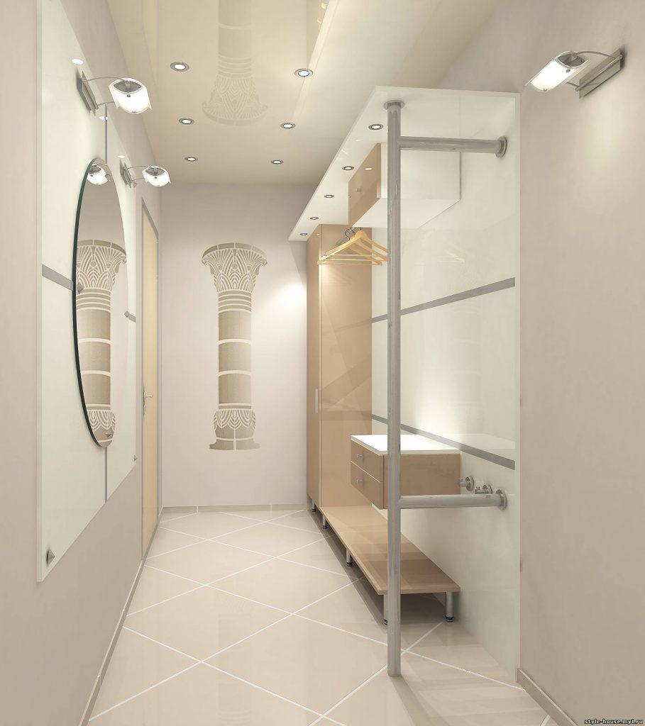 Фото дизайна прихожей для маленьких коридоров