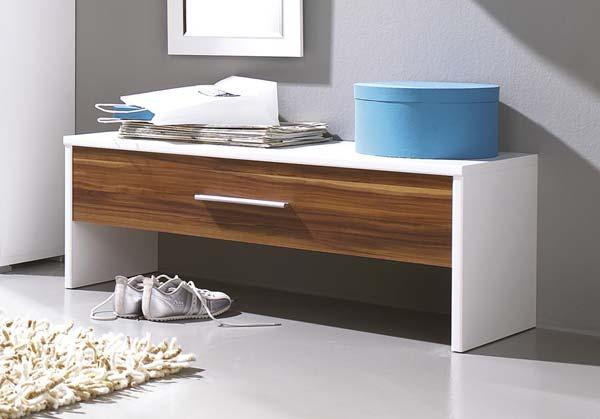 Узкий шкаф для обуви в стиле минимализм