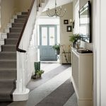 Classic entrance hall with statement floor