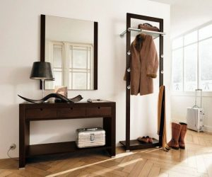 Creative-hallway-furniture-mirror-coat-rack-and-small-desk