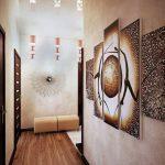 Decorating Narrow Hallway