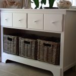 Entryway-Storage-Cabinet-Wicker-Box
