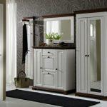 Garderobenset white Lanshaus hall furniture