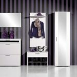 Hall-set-up-modern-furniture-and-wall-design-with-wallpapers
