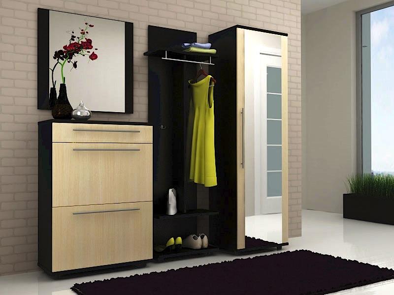 Корпусная мебель для маленьких коридоров