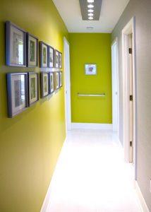 Small-Corridor-Design-green-narrow-entryway-corridor-design