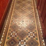 Victorian Tiled Floor Windermere Before Cleaning 2