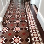 Victorian Tiled Hallway Coventry After Cleaning and Sealing 4