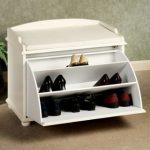 amelia shoe storage bench