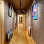 apartment hallway design in Kiev