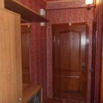 foto17 Dizayn koridora v derevyannom stile