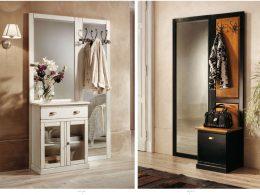 Мебель для маленьких коридоров в классическом стиле