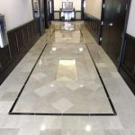 install hallway tile
