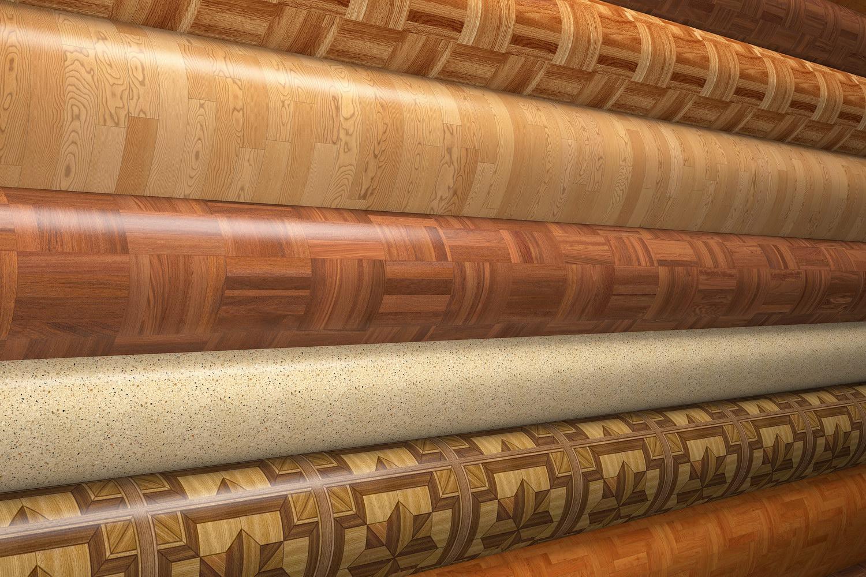 Виды линолеума, имитируещие натуральные деревянные покрытия