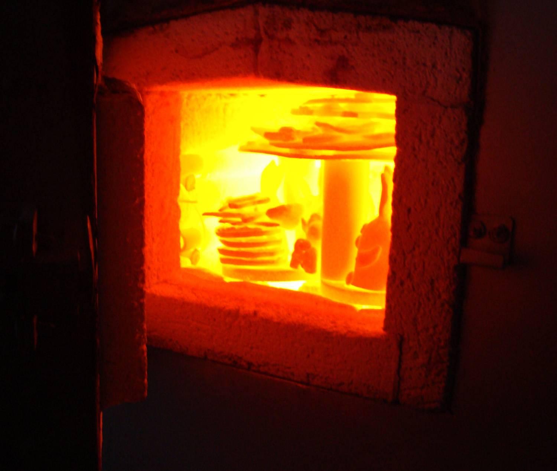 Обжиг керамической плитки для напольного покрытия