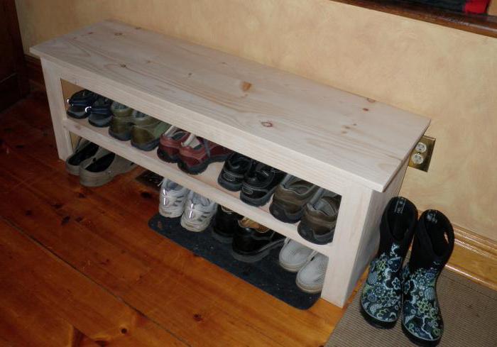 Обувница - скамейка