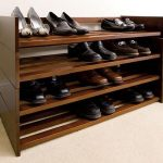 shoe racks closet organizing