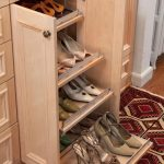 small slide out shoes storage