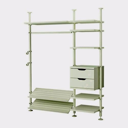 Опорная гардеробная система Stolmann от ИКЕА