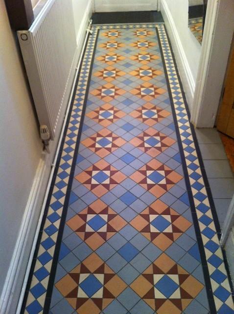 Traditional floor tiles