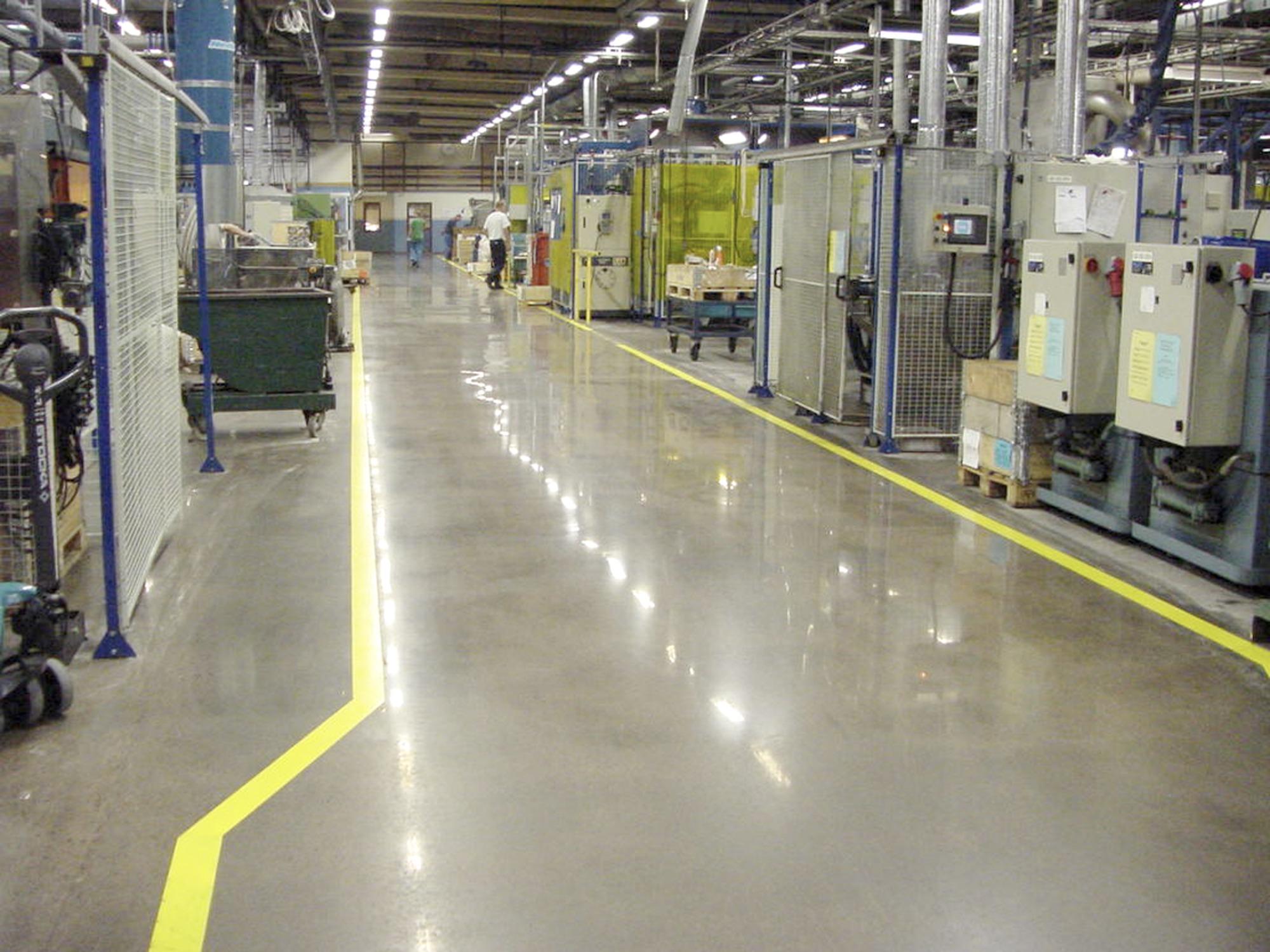 фото промышленные полы