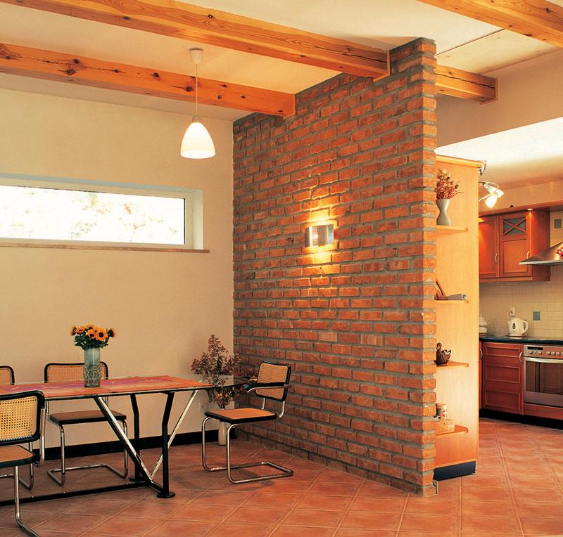Кирпичная стена в бане дизайн
