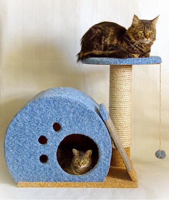 Своими руками домик для котов