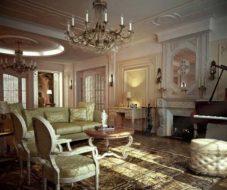 iskusstvo ofisa ili istoricheskie stili v interere