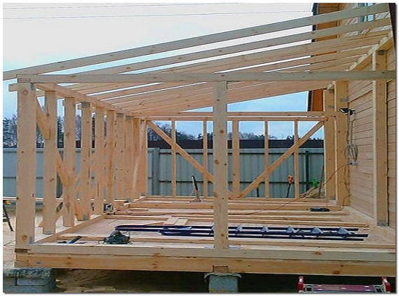 Открытая веранда на даче своими руками инструкция и фото постройки