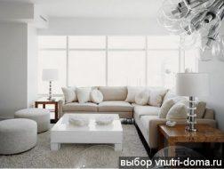 uglovoj divan i interer