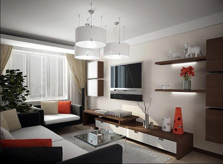 Интерьер гостиной 16 кв.м в панельном доме фото